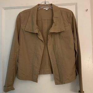 James Perse lightweight jacket in camel color